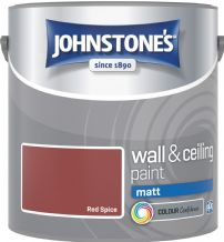 Johnstones Red Spice Coloured Emulsion